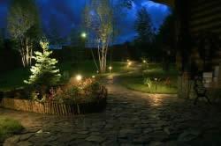 Декоративное освещение участка