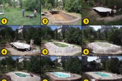 Установка бассейна без чаши