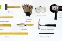 Инструменты для работы с камнем