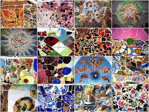 Варианты укладки мозаики