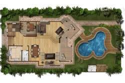 Определение места под бассейн