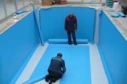 Отделка готовых бассейнов