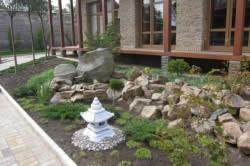 Устройство каменистого сада