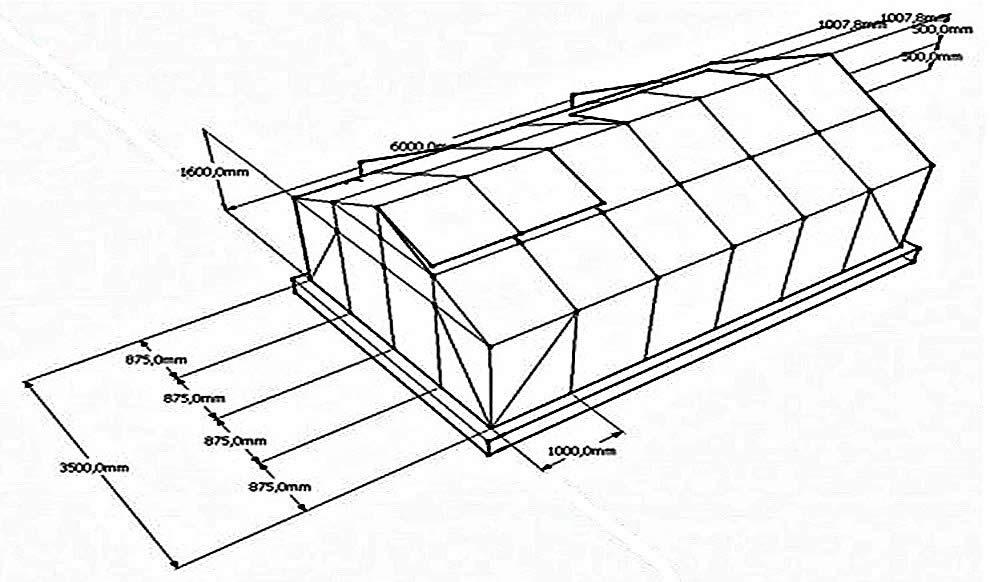 Теплица своими руками из поликарбоната чертеж из оцинкованного профиля 53