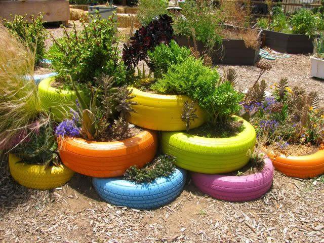 Украсить огород своими руками фото фото 99