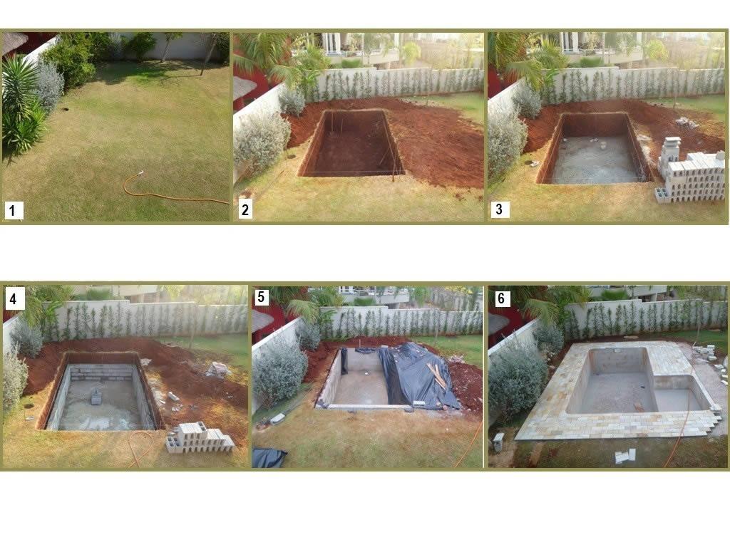 как правильно вкопать бассейн в землю