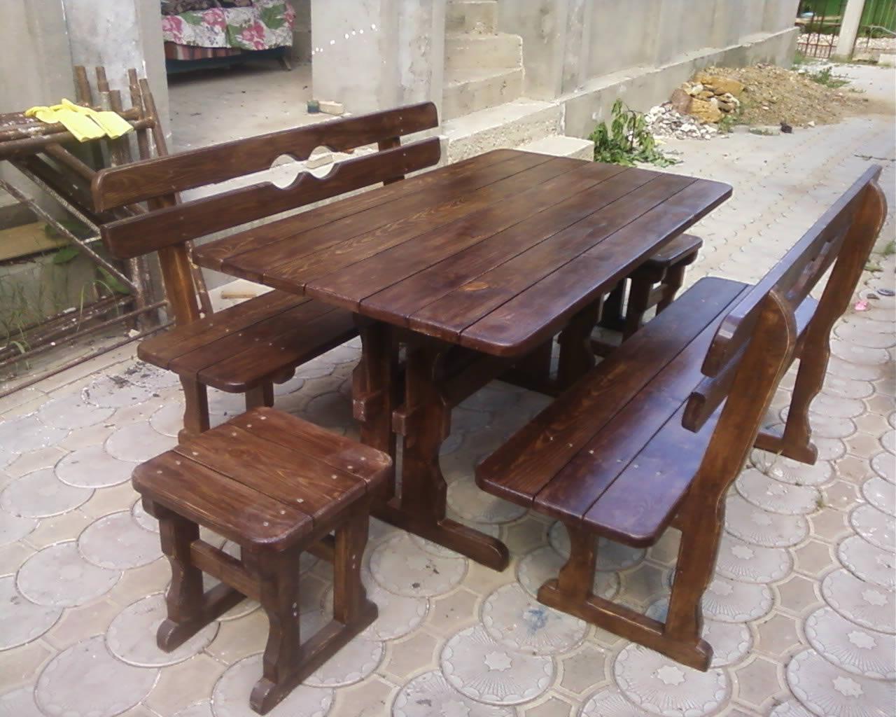 деревянные столы для беседки фото эластичной
